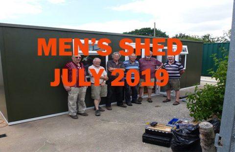 MEN'S SHED JULY 2019